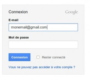 google mon compte acc s mon compte google gmail en france. Black Bedroom Furniture Sets. Home Design Ideas