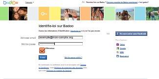 badoo email adresse