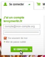 Leroymerlinfr Mon Compte Accéder à Son Compte Client