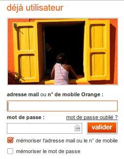 Compte sur Orange.fr
