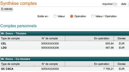 Mon compte cacmds cr dit agricole sur www ca - Plafond compte sur livret credit agricole ...