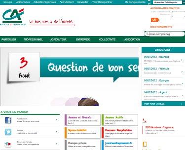 Mon compte cr dit agricole en ligne sur - Les 3 suisses mon compte ...