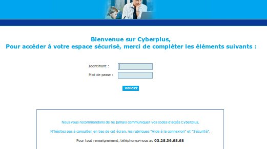 Cyberplus banque populaire