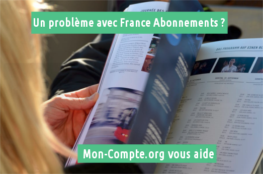 Plainte France Abonnements