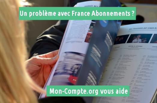 Plainte France Abonnements