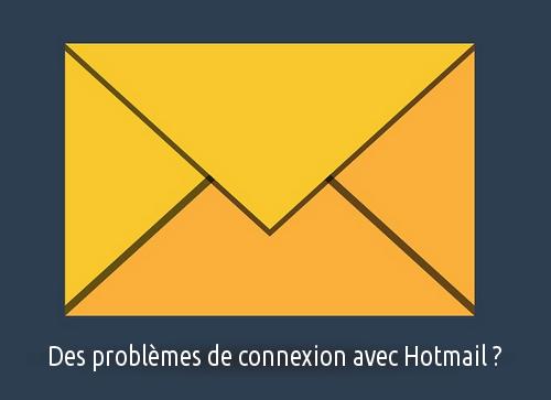 problème hotmail