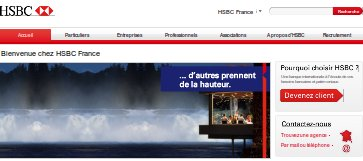 mon compte hsbc france en ligne pour les professionnels pro. Black Bedroom Furniture Sets. Home Design Ideas