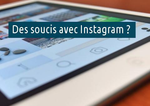 Problèmes compte Instagram