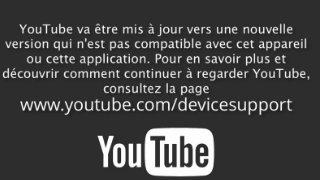 Mise à jour Youtube en français