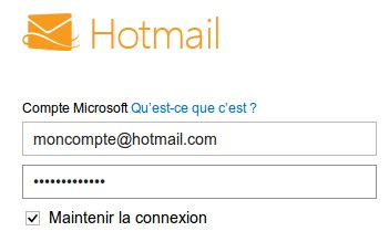 mon compte hotmail consulter ses messages sur msn. Black Bedroom Furniture Sets. Home Design Ideas
