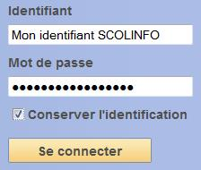 Notes sur scolinfo