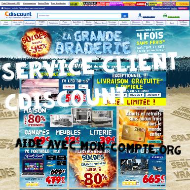 Service client cdiscount