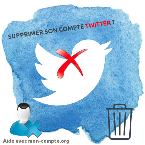 Supprimer son compte twitter