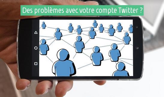 problèmes avec Twitter
