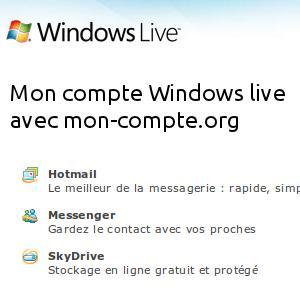 Mon compte Windows live et MSN