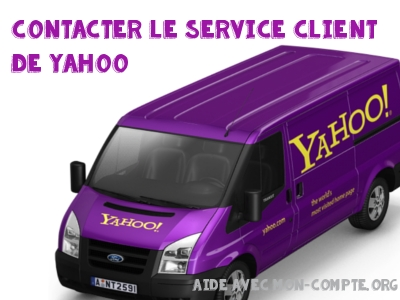 service client yahoo mail